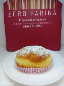 Bomboloni Senza Glutine e Lattosio - 80 gr (SPECIFICARE FARCITURA)