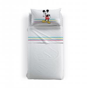 Caleffi sheets complete Disney single sheet MICKEY CAMP
