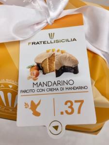Colomba farcita con crema al mandarino - M.I.D. Dolciaria S.r.l. Paternò (CT)