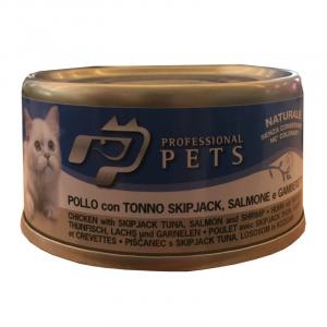 PROFESSIONAL PETS GATTO POLLO TONNO 70 GR