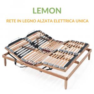 Rete a Doghe in Legno Alzata elettrica Unica | Lemon | Prezzi a partire da