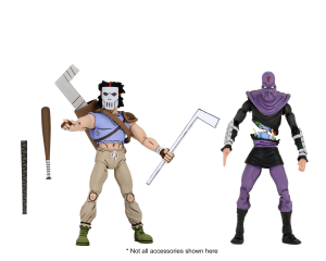 Teenage Mutant Ninja Turtles: Action Figure Animated Series - Wave 3 Casey Jones & Foot Soldier by Neca