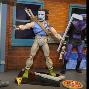 Teenage Mutant Ninja Turtles: Action Figure Animated Series - Wave 3 Casey Jones & Foot Soldier by Neca