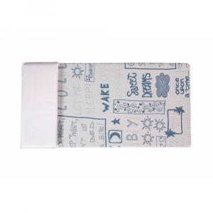 Materasso Lettino o Culla per Bambini alto 12 cm colore Blu + Cuscino Antisoffoco su misura Gratis con Fodera in Cotone Naturale, Rivestimento Sfoderabile con Zip e Lavabile in lavatrice | Pimpy