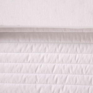 Materasso Lettino o Culla per Bambini alto 12 cm colore Bianco + Cuscino Antisoffoco su misura Gratis con Fodera in Cotone Naturale, Rivestimento Sfoderabile con Zip e Lavabile in lavatrice - Symba