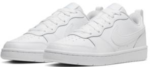 Nike Court Borough Low 2 Sneaker Bambino BQ5448-100 WHITE/WHITE