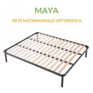Rete in Ferro a Doghe Matrimoniale Ortopedica | Maya
