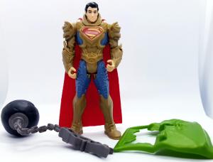 Superman Man of Steel (Action Figure): Superman armored