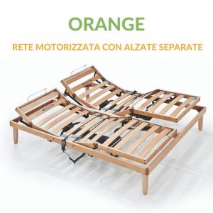 Rete Legno Motorizzata  Alzate Separate | Orange | Prezzi a partire da