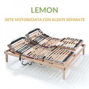 Rete Legno Motorizzata con Alzate Elettriche Separate | Lemon | Prezzi a partire da