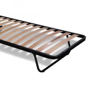 Rete Salvaspazio Ortopedica con doghe di legno chiusura verticale | Plumb