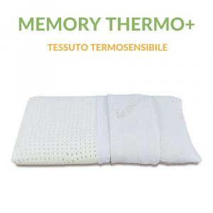 Cuscino Memory Thermo+ con tessuto Thermo+