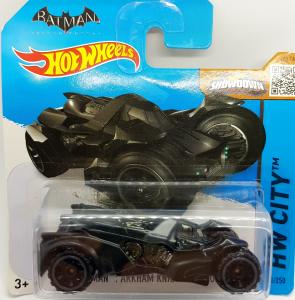 HotWheels: Batman Arkham Knight Batmobile (hw city 61/250)
