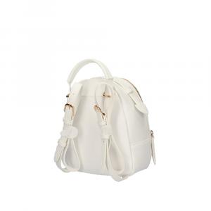 Zainetto S Backpack con borchie colore bianco lana - LIU JO