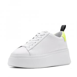 Sneakers Moon bianco e giallo fluo - ASH