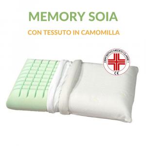 Cuscino Memory Soia tessuto CAMOMILLA