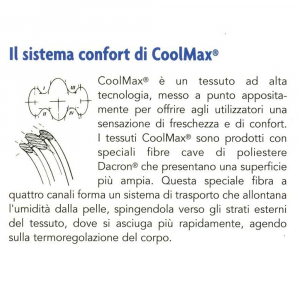 Cuscino Cervicale Memory Gel tessuto Coolmax