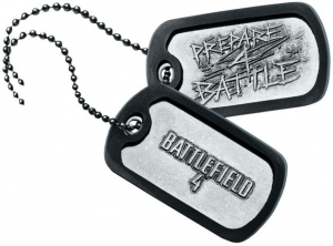 Battlefield 4 Dog Tag by Activision