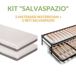 Kit Salvaspazio | 2 Materassi in WaterFoam +  2 Reti Salvaspazio