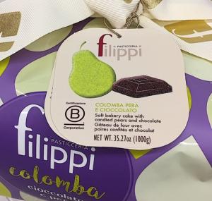 Colomba Cioccolato e Pere - Pasticceria Filippi - Zanè (VI)