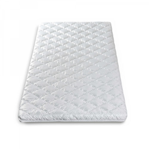 Materassino Topper in Memory Arrotolabile con elastici   Twist Memory Bed