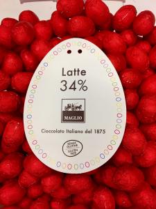 Uova di cioccolato al latte - Maglio Cioccolato - Maglie (LE)