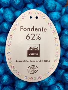 Uova di cioccolato fondente - Maglio Cioccolato- Maglie (LE)