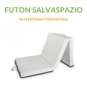 Materassino Futon Pieghevole SalvaSpazio 80x200