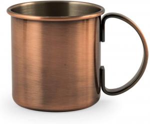 Tazza Mug Cocktail in Acciaio Inox 18 10 CL 50 cm.9,5h diam.9