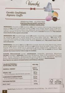 Covetti confettati ripieni - Venchi - (CN)