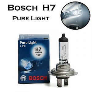 1987302777 LAMPADINA H7 BOSCH 12V 55W PURE LIGHT