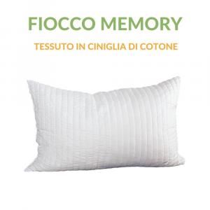 Cuscino Fiocco Puro Memory