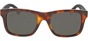 Gucci - Occhiale da Sole Uomo, Havana Black/Grey Shaded  GG0008S  006  C53