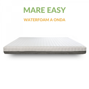 Materasso Waterfoam H18 ad Onda Massaggiante Ortopedico Sfoderabile Anallergico |Mare Easy