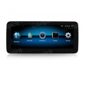 ANDROID monitor 10.25 navigatore per Mercedes classe A W176 Classe GLA X156 Classe CLA W117 2013-2015 NTG 4.5 GPS WI-FI Bluetooth MirrorLink 4GB RAM 64GB ROM Octa-Core 4G LTE