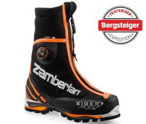 3030 EIGER LITE GTX RR BOA - Mountaineering boots - Black/ Orange