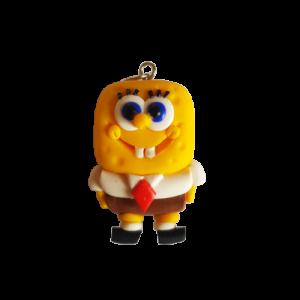 Portachiavi/Ciondolo fimo: Spongebob
