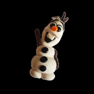Portachiavi/Ciondolo fimo: Olaf (Frozen)