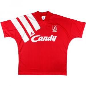 1991-92 Liverpool Maglia Home L (Top)