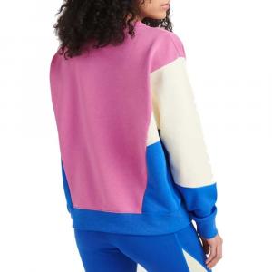 Felpa Nike Swoosh Royal/Pink da Donna