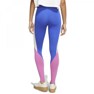 Leggings Nike Swoosh Royal/Pink da Donna