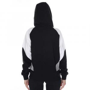 Felpa Nike Swoosh Black/White da Donna
