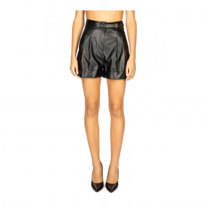 SHORTS IN SIMILPELLE