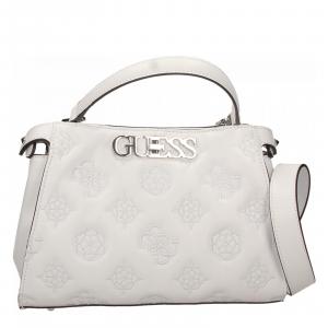 GUESS CHIC TURNLOCK SATCHEL