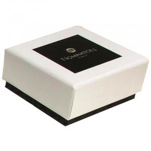 Portachiavi Nomination Gentleman Diamante Bianco