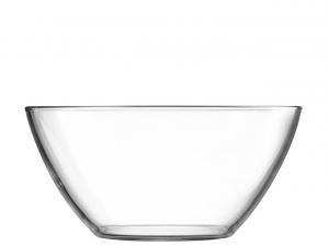 Coppa in vetro multiuso cm.8h diam.17