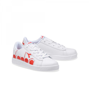 Diadora Game P Bolder White/Red Unisex