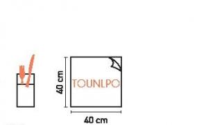 TOVAGLIOLO POCKET TEXILE BIANCO