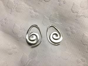 Orecchini Spirale in oro 9k