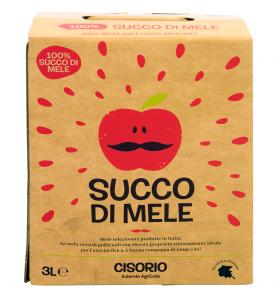 Succo di mele 100% 3lt Cisorio